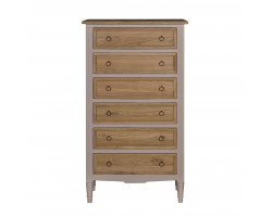 Juliette Commode with 6 Drawers