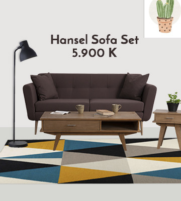 Hansel Sofa set