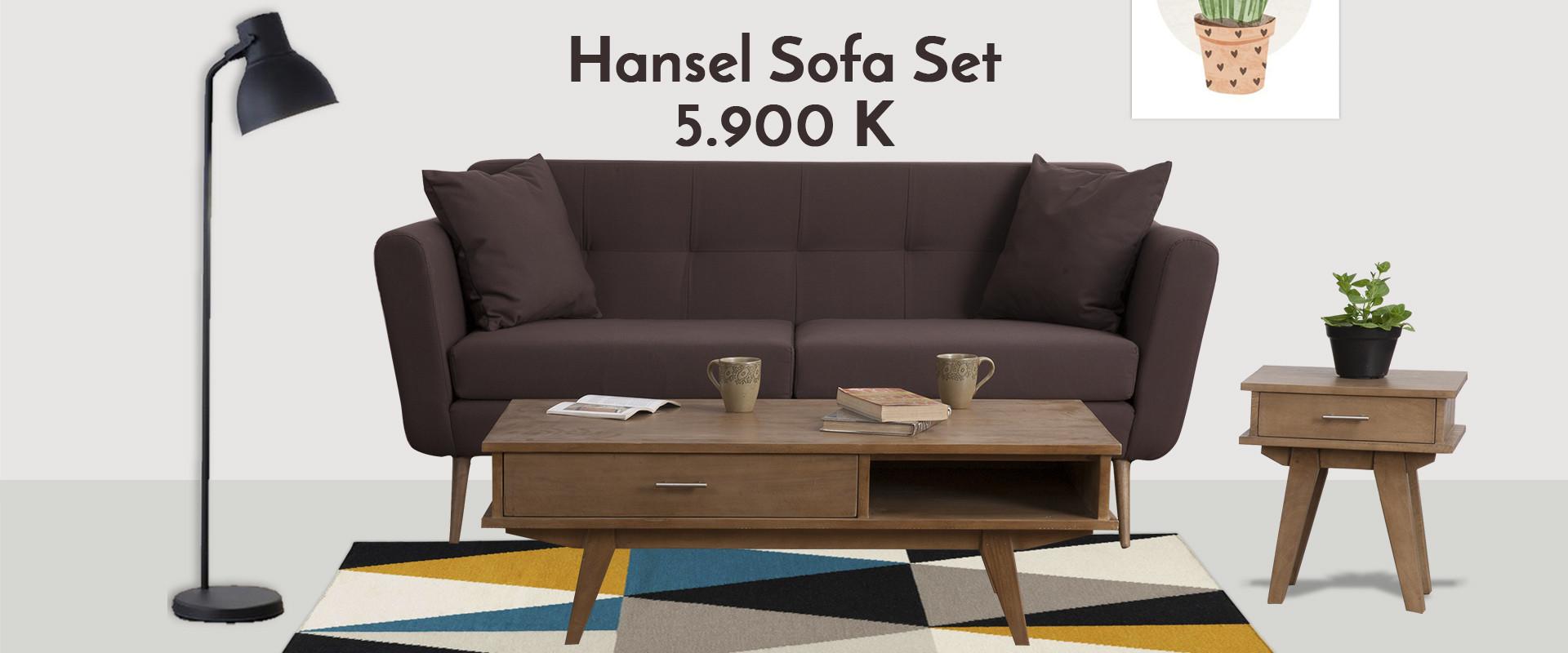 Hansel Sofa set